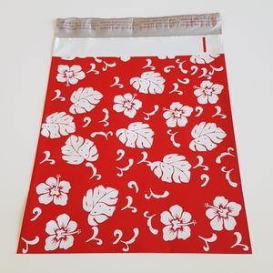"""25 Leaves Flowers Poly Mailers 10""""x13"""""""
